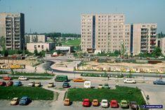 Warszawa Ursynów, budowa metra, PRL, 1985