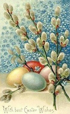 م For all of my Christians students, colleagues, friends and teachers all over the world, happy Easter Easter Art, Hoppy Easter, Easter Crafts, Easter Eggs, Easter Bunny, Images Vintage, Vintage Postcards, Vintage Cards, Decoupage