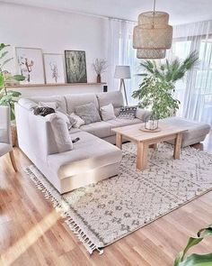 Home Decoration 👍 katalay.net/home-decoration/ #homedecor #homedecoration #homesweethome #home Boho Living Room, Home And Living, Living Room Decor, Living Rooms, Cozy Living, Modern Living, Living Dining Combo, Small Living, Living Spaces