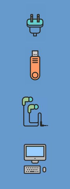 RNS Pictográfica Dispositivos by Yorlmar Campos, via Behance
