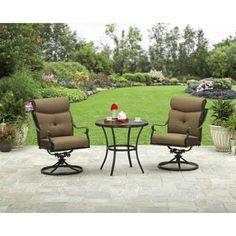 Better Homes and Gardens Bailey Ridge 3-Piece Aluminum Bistro Set -  $329