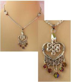 Silver Celtic Knot & Heart Pendant Necklace  http://cgi.ebay.com/ws/eBayISAPI.dll?ViewItem=150989503318