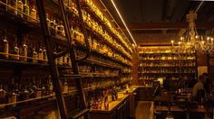 Portland Picks: Multnomah Whiskey Library (Photo by Flickr User, Roger)