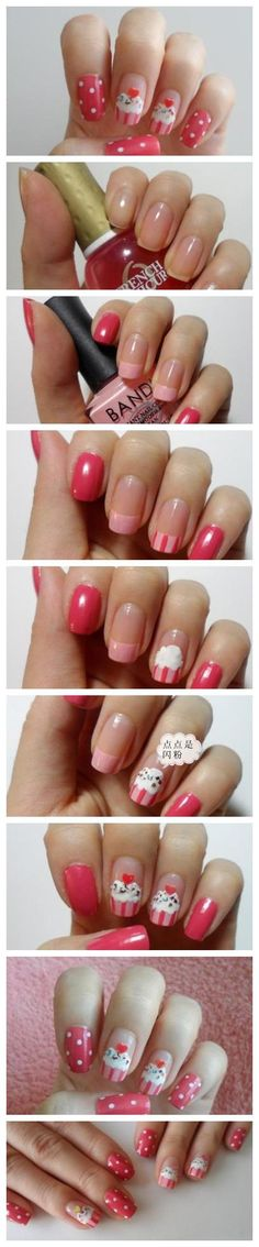 like the pink french manucure