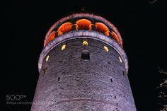 Galata Tower by tanzerapaydin  http://ift.tt/2acIIft