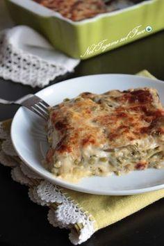 LASAGNE CON VERDURE E TALEGGIO l'ideale per smaltire le verdure miste surgelate, venite a scoprire la cremosità di questo primo piatto! #lasagne #verdure