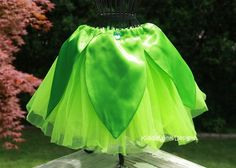Tinkerbell tutu. I like the fabric petals