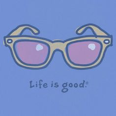 Lookin' at life thru 'rose~colored' glasses. Love Life, Life Is Good, Best Clothing Brands, Do What You Like, Movin On, My Happy Place, Summer Fun, Peace And Love, Best Quotes