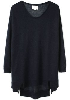 GIRL BY BAND OF OUTSIDERS /  LOOSE KNIT PULLOVER, would double great for maternity too!