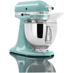 mixers kitchen | KitchenAid Artisan Stand Mixer - Aqua Sky