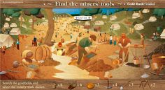 Excellent Gold Rush Informative and Interactive Digital Resource - Teacher Features