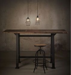 elm a-frame bar table Bar Tables, Dining Table, Rustic Bar Stools, Front Doors, Table Furniture, Earthy, Scene, Iron, Base