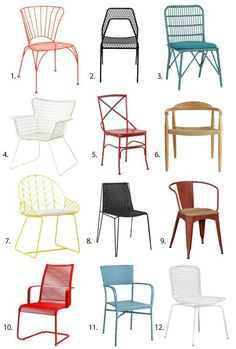 There are so many great outdoor seating options on the market right now that it was difficult to select just a few for this roundup of the best. That's why this year's annual guide features twelve outdoor dining chairs (versus last year's eight), half of which are under $100.