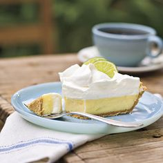 Heavenly Key Lime Pie Recipe- for Mamaw. Birthday: Jan. 5th (the filling needs sugar, it's very tart)