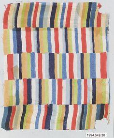 Textile Sample Manufacturer Wiener Werkstätte  Designer: Designer Unknown Date: 1910–28 Medium: Silk Dimensions: H. 6-1/2, W. 7-3/4 in.