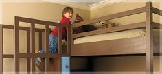 Plans from Lowes for bunk beds