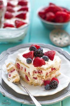 クリームとクッキーを重ねるだけの焼かない簡単ケーキ   | アイスボックスケーキからクリスマス用のアレンジケーキまで easy cakes  #sweets #event