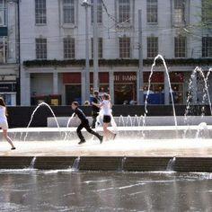 Summer Time at Old Market Square, Nottingham