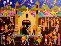 Navegante do Infinito: Arte Naïf colorindo a vida