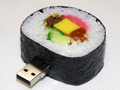 Sushi USB Drive, $10.50 | 33 Rad Supplies That Will Make You Pumped To Go Back To School