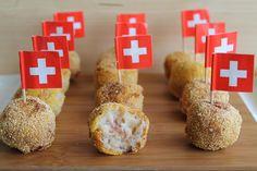 Polpettine di cavolfiore con pancetta e formaggio