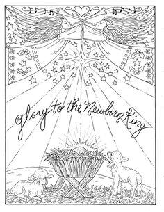 5 Pages of Christmas Coloring Christian Scriptures Bible Adult color book/digital/digi stamp/church/ Christmas Coloring Sheets, Printable Christmas Coloring Pages, Jesus Coloring Pages, Coloring Book Pages, Nativity Coloring Pages, Christian Christmas, Christmas Jesus, Christmas Cards, Christmas Tree