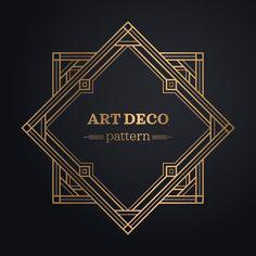 art vector Baixe Fundo Do Quadro Art Deco gratuitamente Arte Art Deco, Motif Art Deco, Estilo Art Deco, Art Deco Pattern, Art Nouveau Design, Web Design, Logo Design, Fuente Art Deco, Bijoux Art Deco