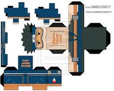 papercraft another cool naruto papercraft japan media online
