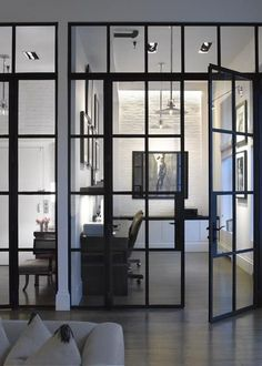 steel pocket sliding doors - Google Search