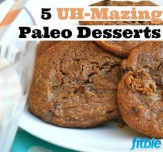 No butter? No flour? No problem! These #dairyfree, #grainfree #paleo treats will satisfy your classic cravings without derailing your diet. | Fitbie.com