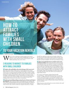 VRM Intel Magazine - Winter 2016  News and information for vacation rental professionals