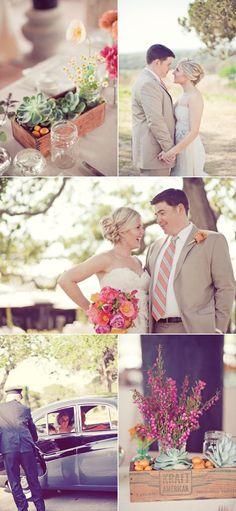 wedding style + succulents