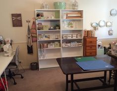 Loving my new sewing room
