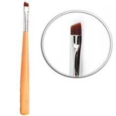 Eyebrow mascara brush/ Eyeliner brush/  Double eyelid brush /Single branch/ Oblique head makeup brush by taoli. $13.00. Bristles Material: man-made fibers. Angle brow brush. Categories: eyeliner brush. Brush handle Specifications: portable models. 1.These brushes are like butterfly kisses, give you a pleasure to use   2Cosmetic Brush make you much more beautiful          3.Portable design    4.best cosmetic tools for powder    5.The makeup brush set is easy to carry ...