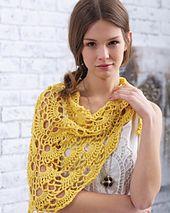 Ravelry: Yes Yes Shawl pattern by Bernat Design Studio