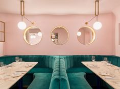 This has certainly been the year for 1940's Hollywood vibe in bars and restaurants. Pastel pink hues, plush velvet upholstery, curvy shapes and shiny brass have popped up everywhere. For final proof we are including a small, tightly edited underground bar in London. NAC (North Audley Cantine) in Mayfair, London, opened in late 2013. It has …