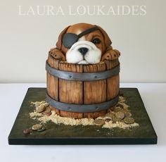 Ben the Bulldog by Laura Loukaides