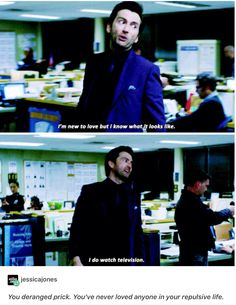 Hahahaha, David Tennant is always so entertaining. Even when he's a villain, he makes me laugh! X'D   :: Marvel's Jessica Jones -Netflix-