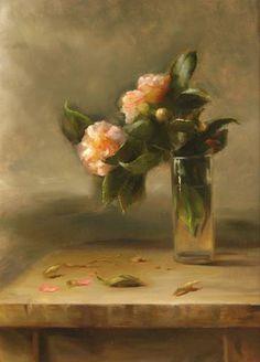 Camellias by Juliette Aristides Juliette Aristides, Camellia Oil, Arte Floral, Sketchers, Artist Art, Beautiful Paintings, Flower Art, Painting & Drawing, Still Life