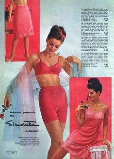79d5649441 De 114 bästa vintage lingerie-bilderna på Pinterest