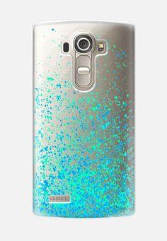 minty sparkles LG G4 case by Marianna | Casetify