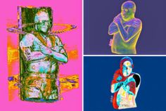 X-Ray Portraits Xavier Lucchesi uses an x-ray machine to create these vulnerable portraits.