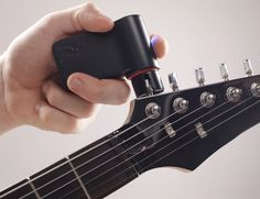 Roadie Tuner works with six, seven, and 12-string guitars, ukuleles, and banjos.