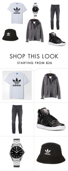 """adidas style"" by rc113326 ❤ liked on Polyvore featuring adidas, Banana Republic, Calvin Klein, Tag Heuer, men's fashion и menswear"