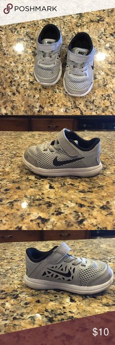 Toddler shoes Nike boys toddler shoes in grey and black Nike Shoes Sneakers