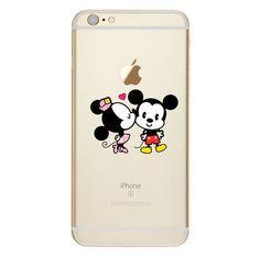 Cute Mickey Minnie Case Samsung Galaxy
