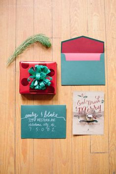 Fun and festive holiday party invite. The Exchange Christmas Dinner Party Shoot Wedding Party Invites, Holiday Party Invitations, Holiday Festival, Holiday Fun, Fashion Invitation, Invitation Suite, Christmas Wedding Themes, Woodland Theme Wedding, Xmas Party