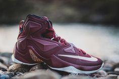 "Nike LeBron 13 ""Greatness"" (Cleveland Cavaliers) - EU Kicks: Sneaker Magazine"