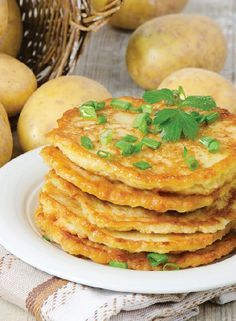 Low FODMAP Recipe and Gluten Free Recipe - Potato Pancakes  www.ibssanoplus.c...
