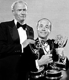 """Eat your heart out, Harvey. Like he didn't have a roomful of Emmys""-Tim Conway. (What's so funny? My Hilarious Life; by Tim Conway) Harvey Korman and Tim Conway ~ Carol Burnett Show Famous Men, Famous Faces, Lyle Waggoner, Harvey Korman, Carol Burnett, Vintage Tv, Vintage Movies, Old Tv Shows, Classic Tv"